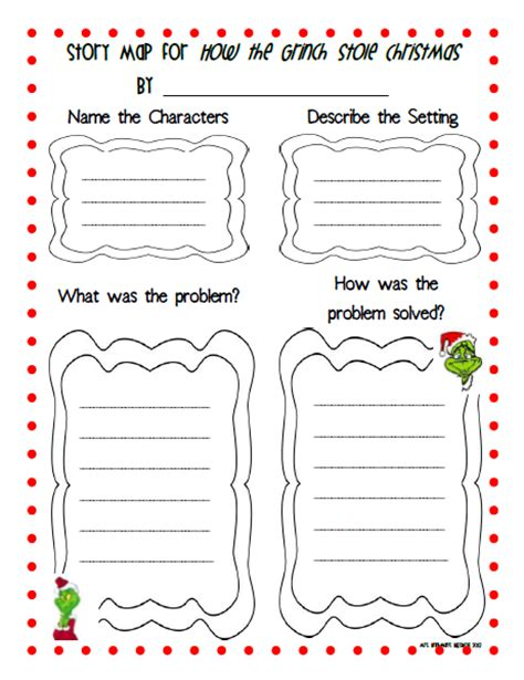 story themed activities grinch activities for second grade myideasbedroom com