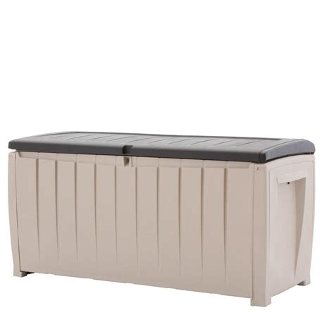 outdoor storage bench home depot home depot outdoor storage box best storage design 2017