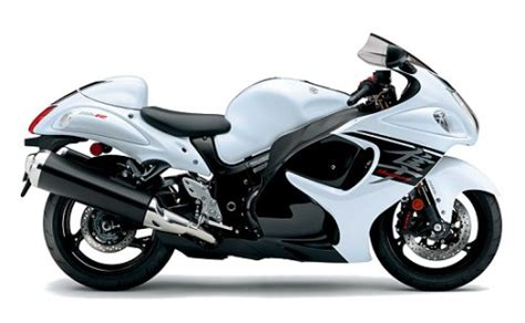 Suzuki Hayabusa White Colour S Motorblog It S Not Just About Power 2017