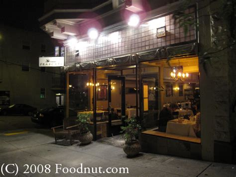 steak house san francisco frascati restaurant review san francisco 94109 russian hill