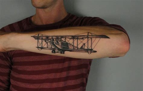 tattoo the plane 80 cool airplane tattoos