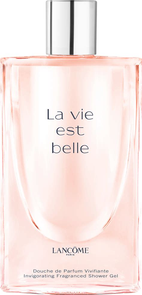 lancome la vie est invigorating fragranced shower gel