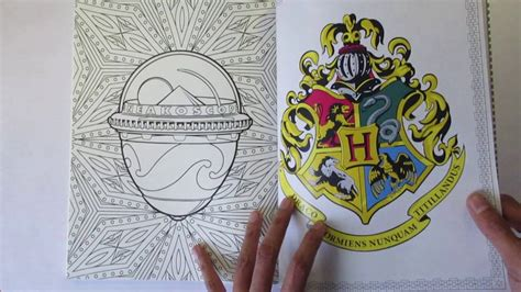 harry potter coloring book review honest harry potter coloring book review and flip through