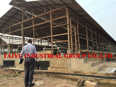 Taiyu Chicken Cage For Poultry Farm For Nigeria Design
