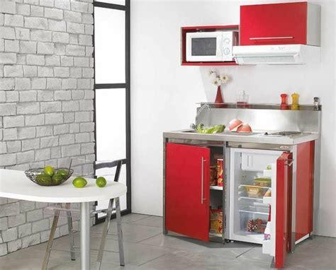 Impressionnant Cuisine Ouverte Petit Espace #1: petit-meuble-cuisine-pour-studio.jpg