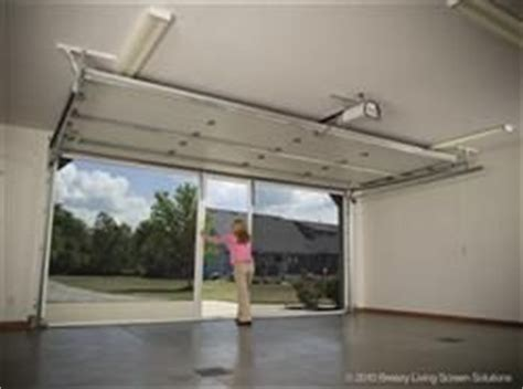 Screen For Garage Door Opening by Lifestyle Garage Screen Doors National Overhead Door