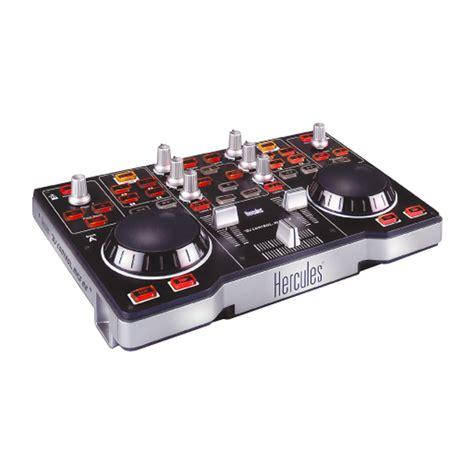 best dj console hercules dj mp3 e2 portable dj console mixer ebay
