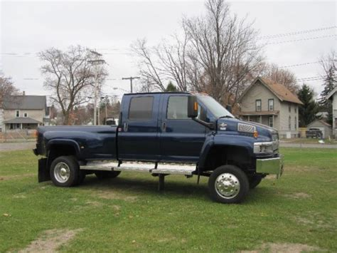 chevy kodiak  wd crew cab  monroe pickup bed