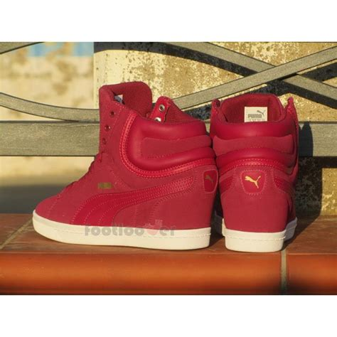 shoes vikky wedge 357246 09 suede inside heel plum