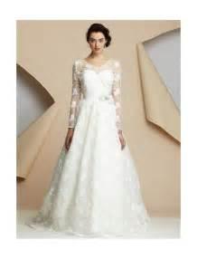 Long Sleeve Wedding Dresses Dressed Up Girl Long Sleeved Lace Wedding Dress