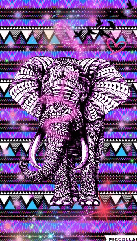 girly elephant wallpaper hispter cute girly elephant create by rose hispter