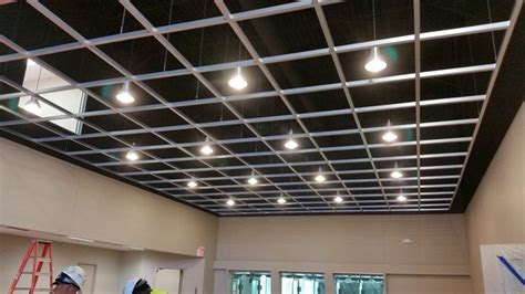 open grid ceiling blackstone shooting sports indoor