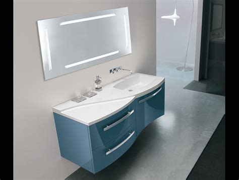 lacquer bathroom vanity tahiti oasis bagni th3 contemporary italian vanity in blue