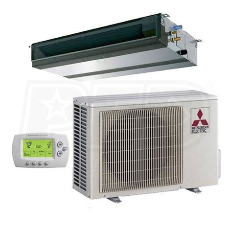ductless mini split concealed mitsubishi pey a36nha4 p series 36 000 btu ductless