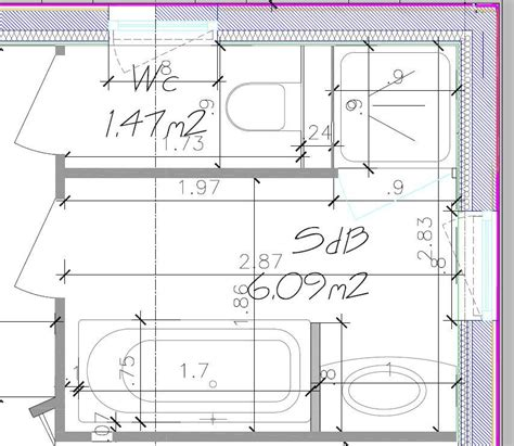 Plan Salle De Bain 5m2 1109 by Salle De Bain 5m2 Plan
