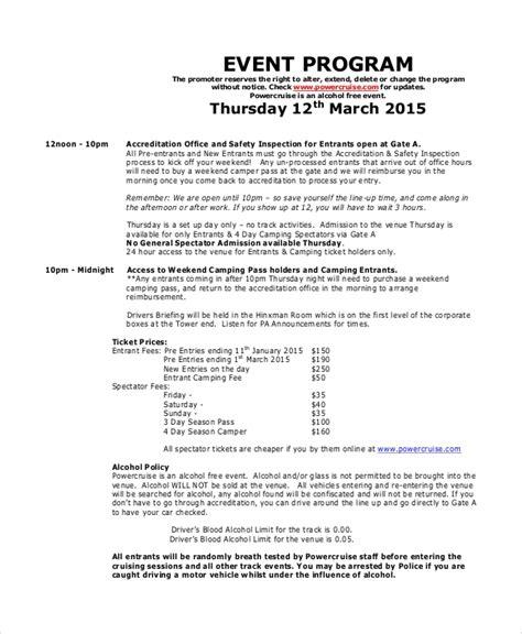 wedding program ideas to go for 21st bridal world wedding