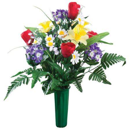 kimball artificial memorial flower bouquet walmart - 1 Year Memorial Flowers