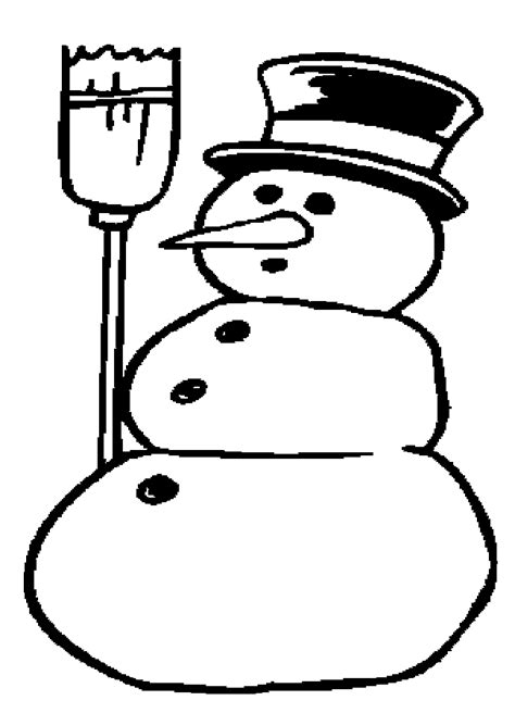 simple snowman coloring page simple snowman coloring pages cartoons coloring pages