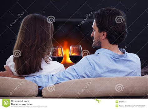 romantic couple drinking wine romantic couple drinking wine stock photo image 84223471