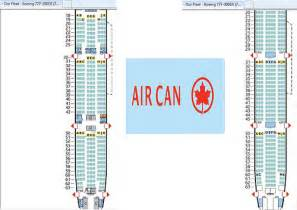 777 300er air canada seat map welcome to air quot sardine quot can ada with much fanfare air