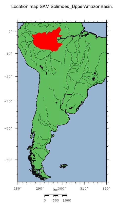 amazon basin sam solimoes upper amazon basin