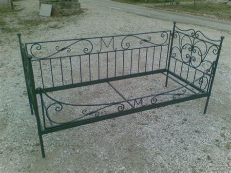 letto divano ferro battuto lavori vari in ferro per interno fonderia