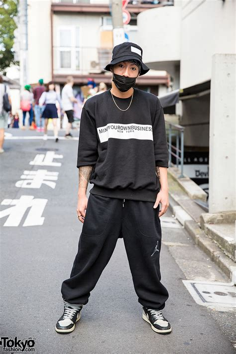harajuku guy in m y o b nyc oz abstract tokyo amp nike fashion