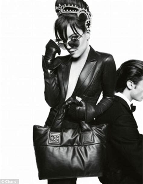 Lilly Allen For Chanel 2 by Allen Reveals Playful Side In Chanel