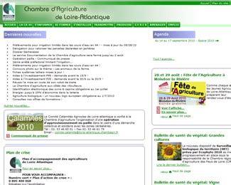 chambre agriculture nantes chambre d agriculture de loire atlantique agence web et