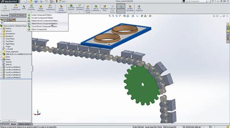sketch driven pattern assembly solidworks solidworks 2014 increased performance keep focus on
