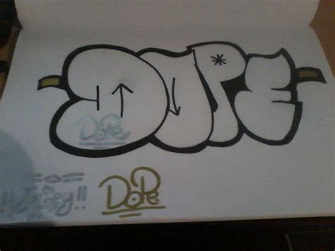 Dope Letters dope graffiti martin style by martin2001 by martin2001