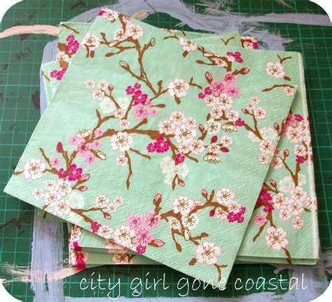 Using Napkins For Decoupage - decoupage chair