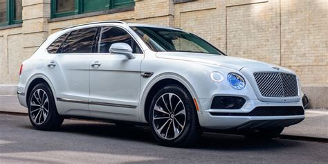 bentley bentayga suv  review  details business insider