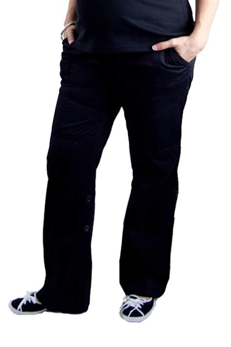comfort waist cargo pants maternity cargo pants 3 way leg length comfort cross waist