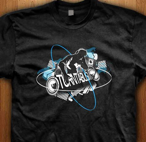 T Shirt Dj turntablism dj t shirt