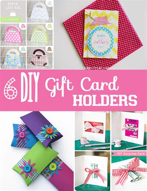 Diy Gift Card Holders - diy gift card holders