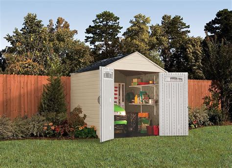 rubbermaid  feet  large outdoor storage shed