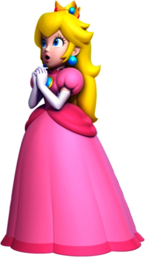 New Super Mario Bros Wii U Princess Peach Artwork By