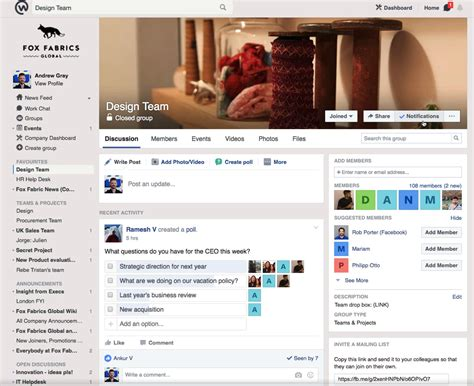 fb workplace the 5 best workplace collaboration tools for your smb
