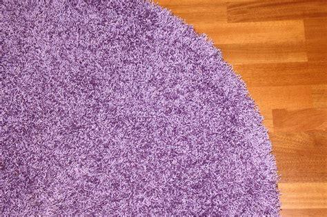 lila teppich rund rund teppich 200 cm fancy lila trendcarpet de