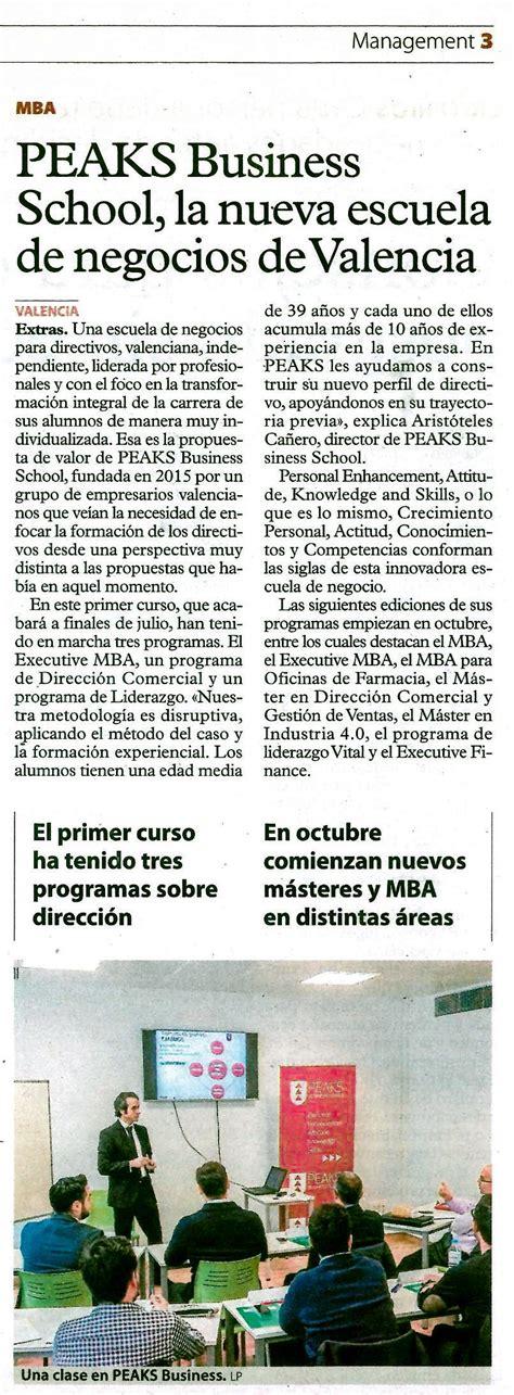 la escuela de negocios peaks la nueva escuela de negocios de valencia peaks business valencia
