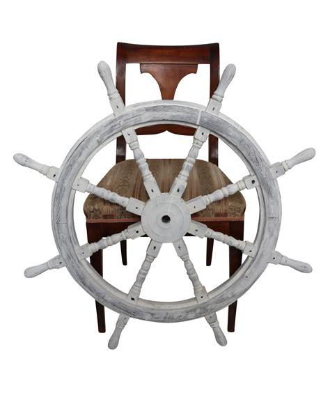 volante della nave volante della nave ruota barca 91 centimetri bianco stile