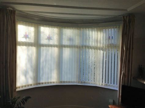 Vertical Blinds For Bow Windows Blinds For Bay Windows What Are My Options Expression