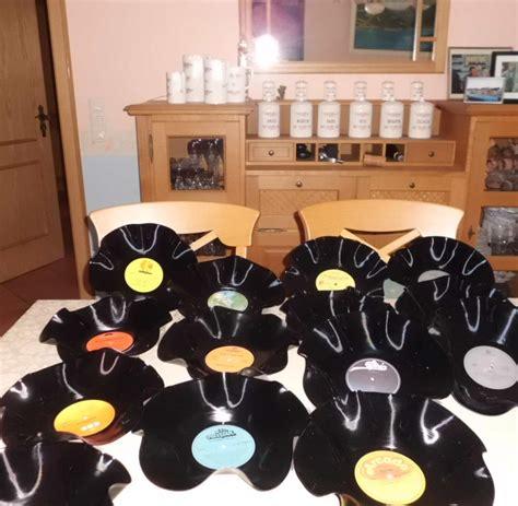 Deko Mit Schallplatten 2686 deko mit schallplatten kreative bastelideen mit