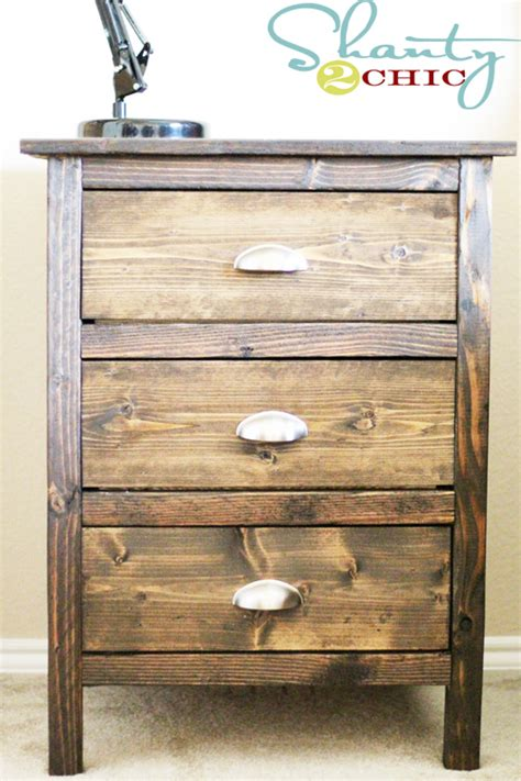 How To Build A Nightstand With Drawers by Woodwork How To Build Wood Stand Pdf Plans