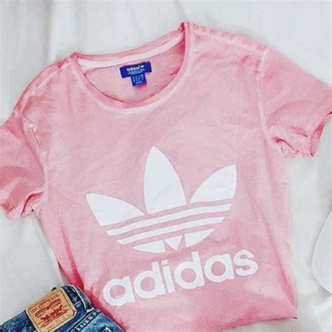 Top Ten Baby Pink Sleeve Shirt 13 adidas tops sold adidas pink logo from
