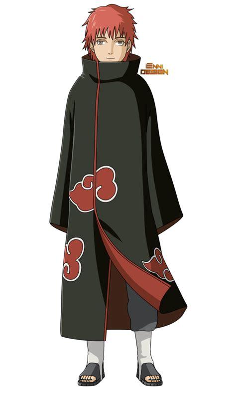 Kaos Deidara Akatsuki Chibi Boruto Anime shippuden sasori akatsuki by iennidesign