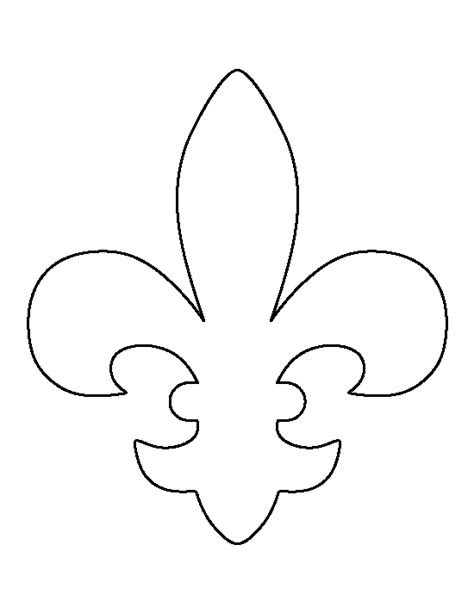 small tent card template free flluer de lis fleur de lis design template pictures to pin on