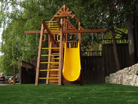 wood backyard play structures backyard play structures for