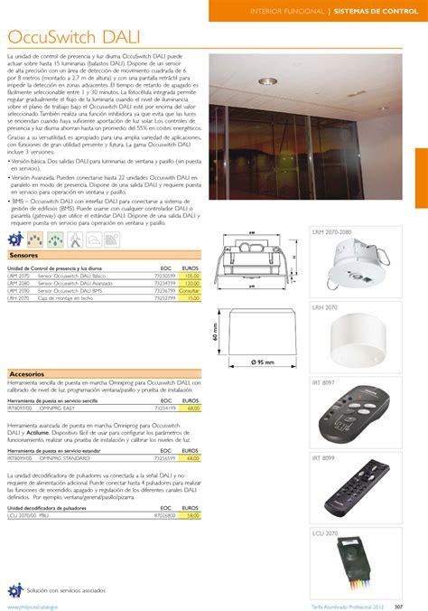 Lu Philips Switch philips luminarias occuswitch dali lrm 2070 sensor